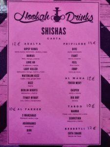 Carta shishas